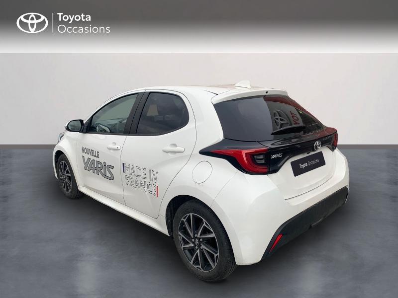 Toyota Yaris 70 VVT-i Design 5p Blanc occasion à CASTRES - photo n°2