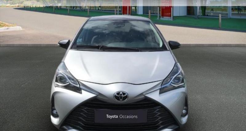 Toyota Yaris 70 VVT-i Design Y20 5p MY19 Gris occasion à Tours - photo n°5