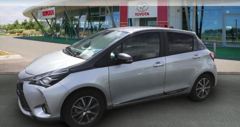 Toyota Yaris 70 VVT-i Design Y20 5p MY19 Gris occasion à Tours