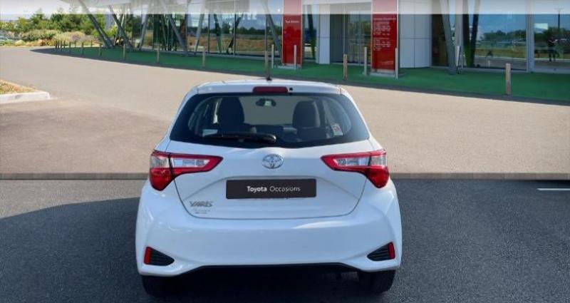 Toyota Yaris 70 VVT-i France 5p MY19 Blanc occasion à Tours - photo n°4