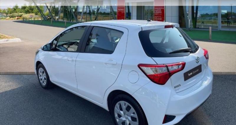 Toyota Yaris 70 VVT-i France 5p MY19 Blanc occasion à Tours - photo n°2