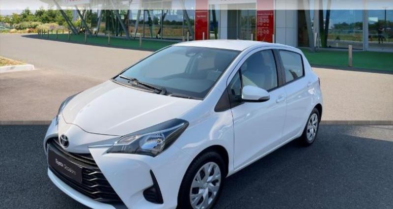 Toyota Yaris 70 VVT-i France 5p MY19 Blanc occasion à Tours