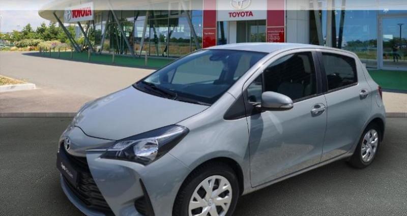 Toyota Yaris 70 VVT-i France Connect 5p MY19 Gris occasion à Saint-saulve