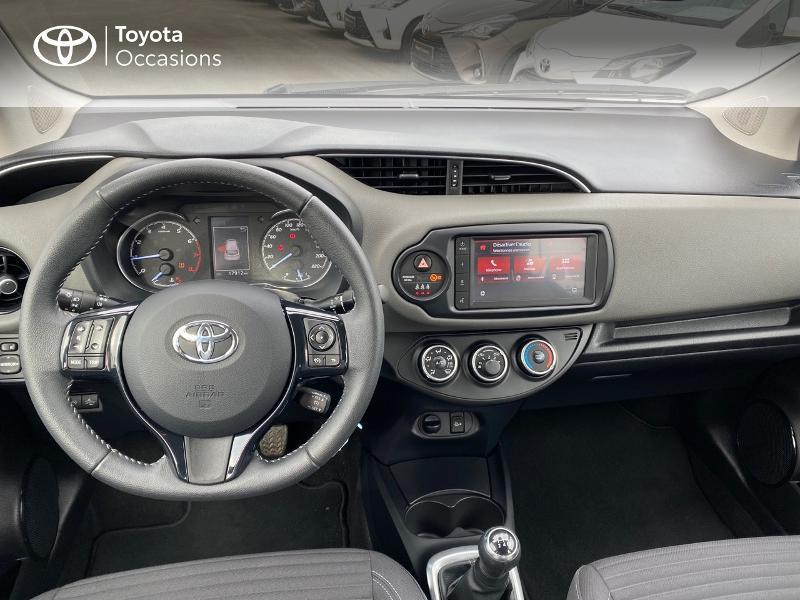 Toyota Yaris 70 VVT-i France Connect 5p RC19 Rouge occasion à NOYAL PONTIVY - photo n°6