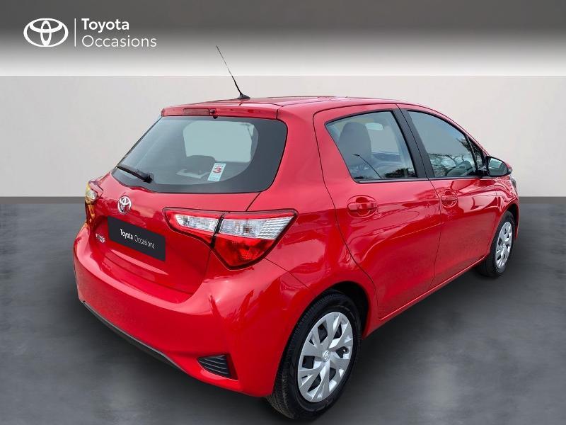 Toyota Yaris 70 VVT-i France Connect 5p RC19 Rouge occasion à NOYAL PONTIVY - photo n°5