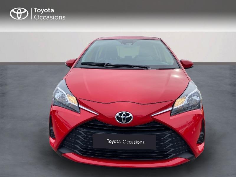 Toyota Yaris 70 VVT-i France Connect 5p RC19 Rouge occasion à NOYAL PONTIVY - photo n°2