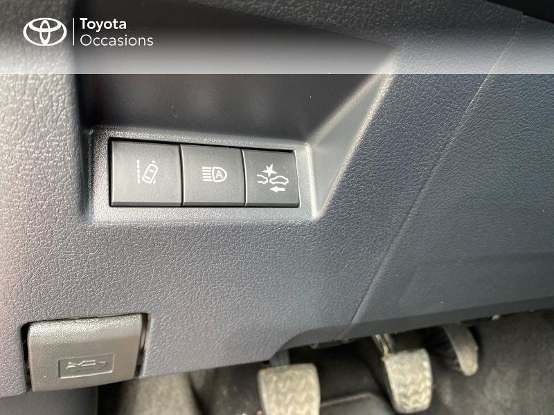 Toyota Yaris 70 VVT-i France Connect 5p RC19 Rouge occasion à NOYAL PONTIVY - photo n°18