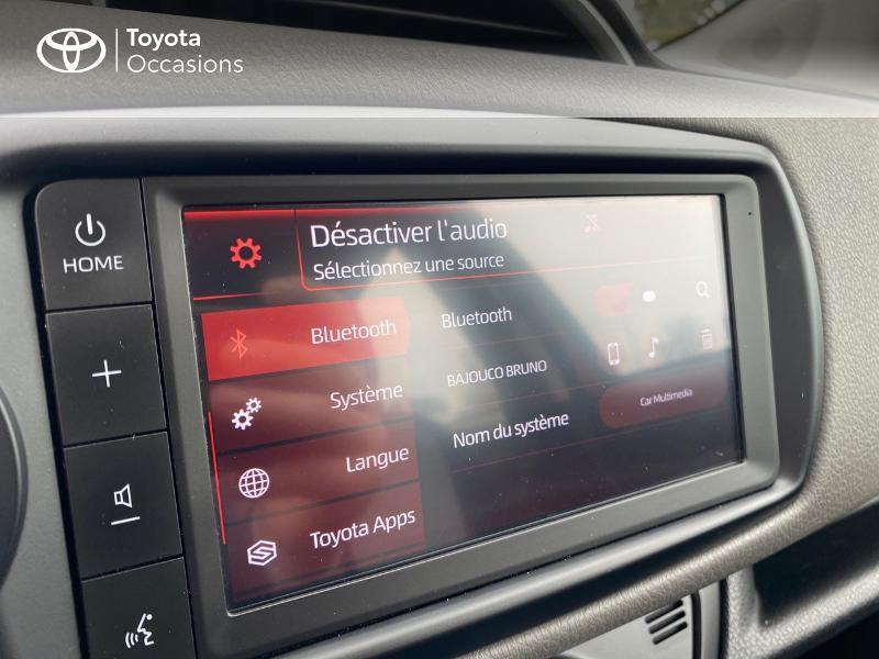 Toyota Yaris 70 VVT-i France Connect 5p RC19 Rouge occasion à NOYAL PONTIVY - photo n°20