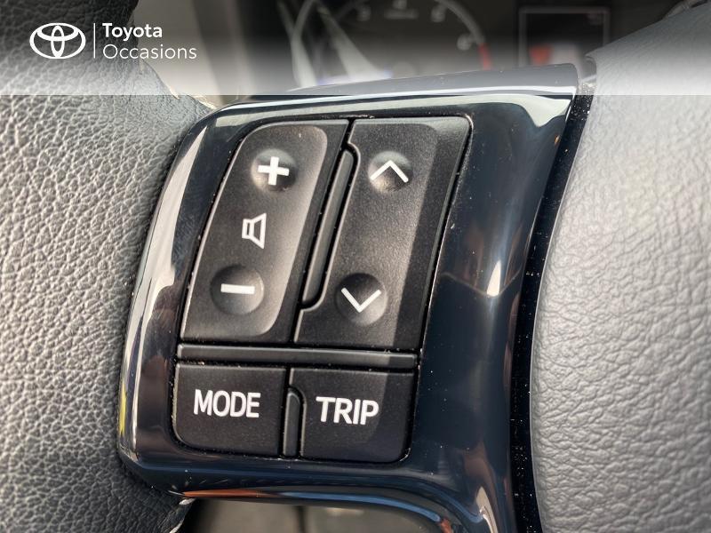 Toyota Yaris 70 VVT-i France Connect 5p RC19 Rouge occasion à NOYAL PONTIVY - photo n°16