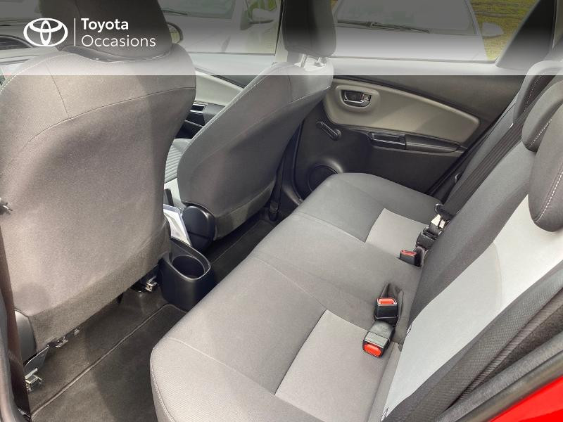 Toyota Yaris 70 VVT-i France Connect 5p RC19 Rouge occasion à NOYAL PONTIVY - photo n°7