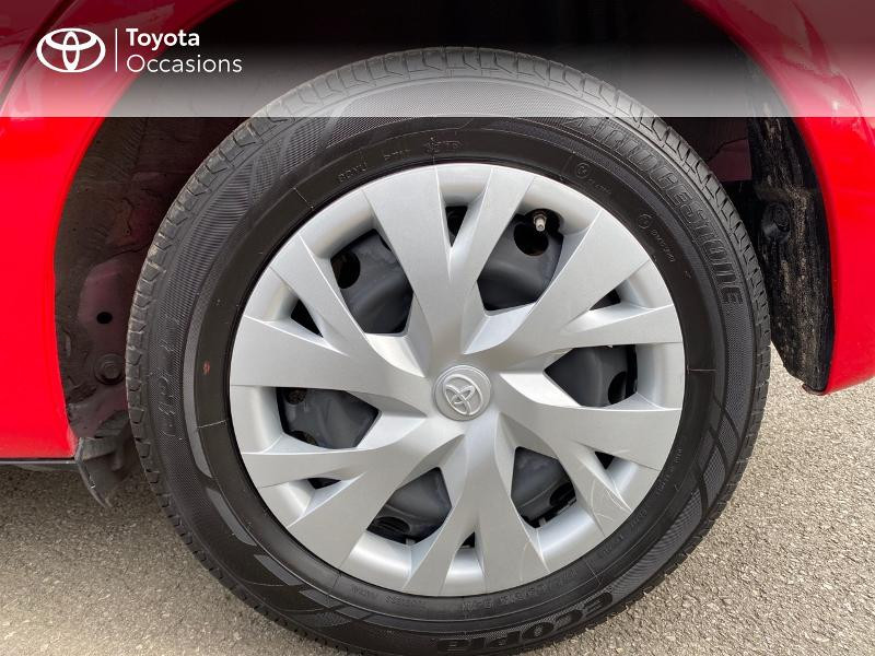 Toyota Yaris 70 VVT-i France Connect 5p RC19 Rouge occasion à NOYAL PONTIVY - photo n°8
