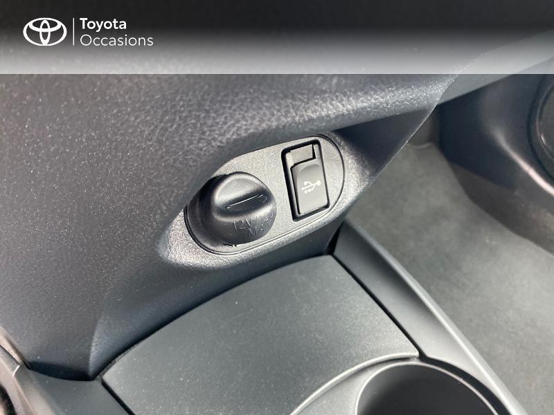 Toyota Yaris 70 VVT-i France Connect 5p RC19 Rouge occasion à NOYAL PONTIVY - photo n°9