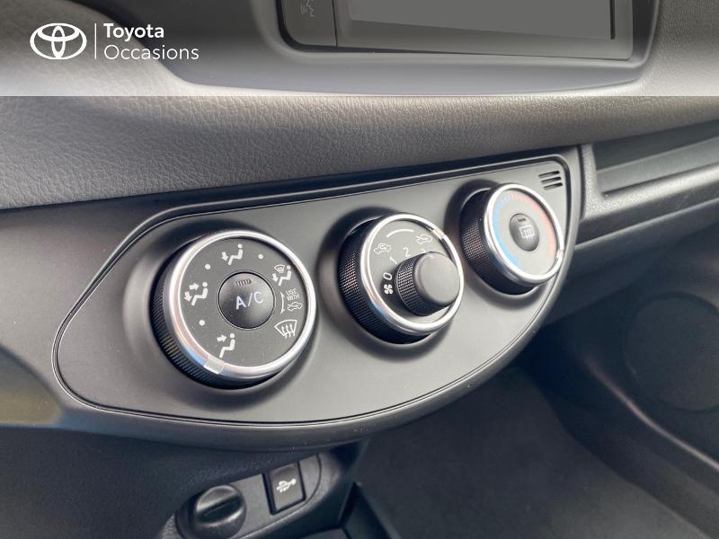 Toyota Yaris 70 VVT-i France Connect 5p RC19 Rouge occasion à NOYAL PONTIVY - photo n°12
