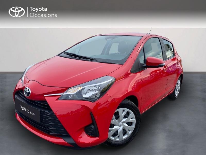 Toyota Yaris 70 VVT-i France Connect 5p RC19 Rouge occasion à NOYAL PONTIVY