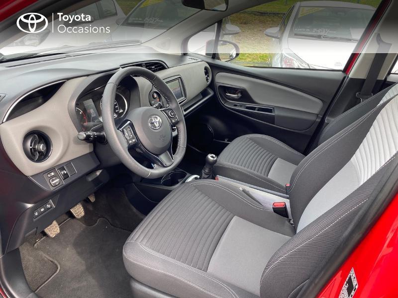 Toyota Yaris 70 VVT-i France Connect 5p RC19 Rouge occasion à NOYAL PONTIVY - photo n°11