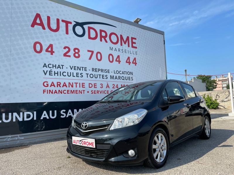 Toyota Yaris 90 D-4D Active 5p - 91 000 Kms Noir occasion à Marseille 10