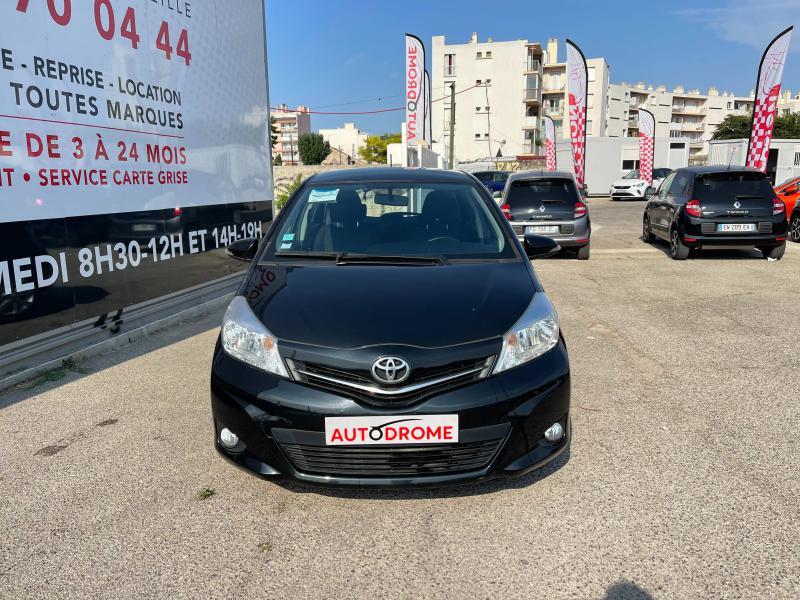 Toyota Yaris 90 D-4D Active 5p - 91 000 Kms Noir occasion à Marseille 10 - photo n°2