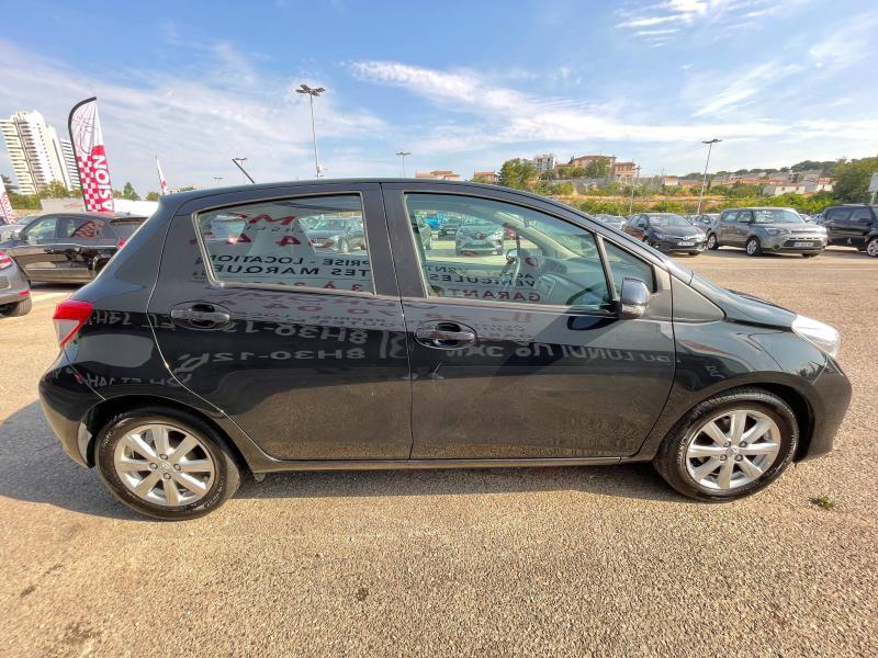 Toyota Yaris 90 D-4D Active 5p - 91 000 Kms Noir occasion à Marseille 10 - photo n°5