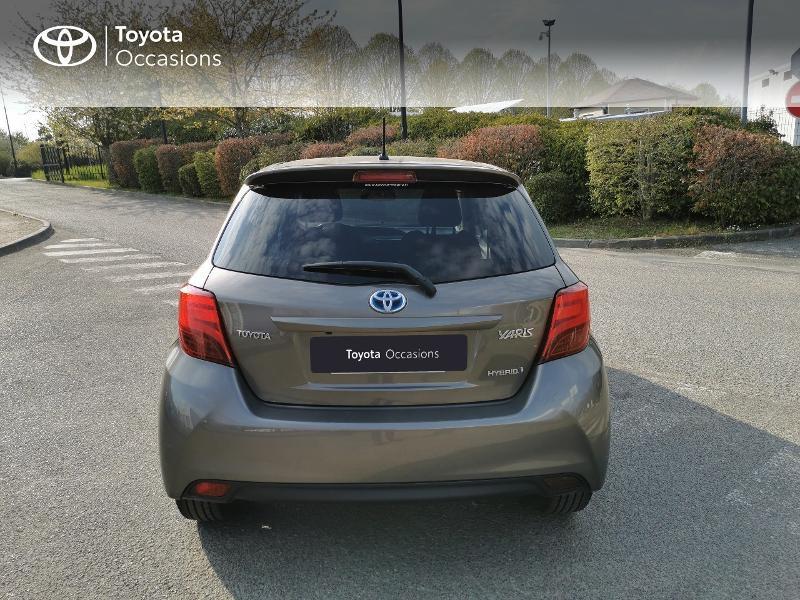 Toyota Yaris HSD 100h Design City TSS 5p Gris occasion à Magny-les-Hameaux - photo n°4