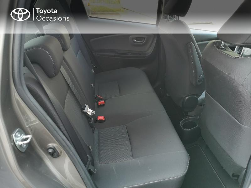 Toyota Yaris HSD 100h Design City TSS 5p Gris occasion à Magny-les-Hameaux - photo n°7