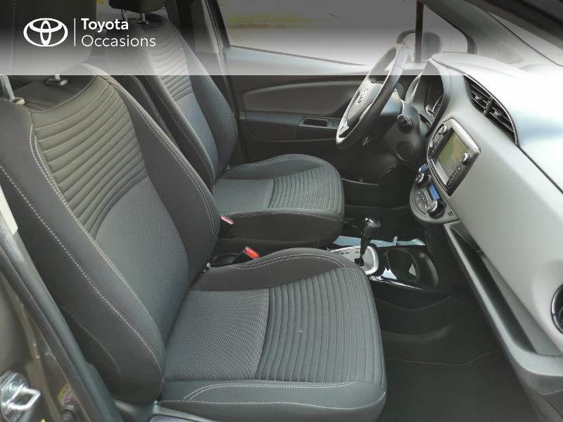 Toyota Yaris HSD 100h Design City TSS 5p Gris occasion à Magny-les-Hameaux - photo n°6