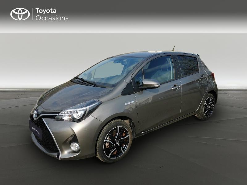 Toyota Yaris HSD 100h Design City TSS 5p Gris occasion à Magny-les-Hameaux