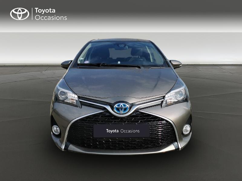 Toyota Yaris HSD 100h Design City TSS 5p Gris occasion à Magny-les-Hameaux - photo n°5
