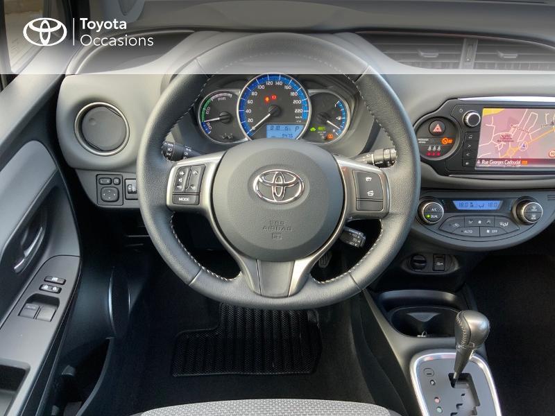 Toyota Yaris HSD 100h Dynamic 5p Gris occasion à Pluneret - photo n°6