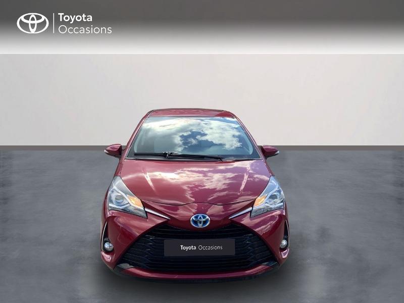 Toyota Yaris HSD 100h Dynamic 5p Rouge occasion à Pluneret - photo n°5