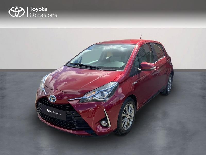 Toyota Yaris HSD 100h Dynamic 5p Rouge occasion à Pluneret