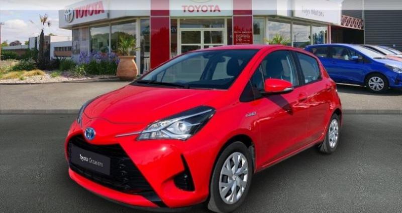 Toyota Yaris HSD 100h France 5p Rouge occasion à Cognac Cedex
