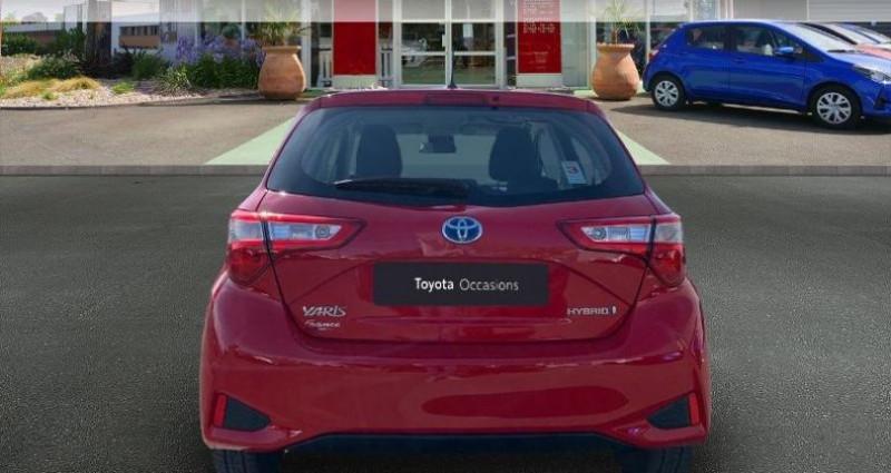 Toyota Yaris HSD 100h France 5p Rouge occasion à Cognac Cedex - photo n°4