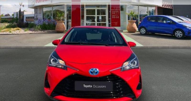 Toyota Yaris HSD 100h France 5p Rouge occasion à Cognac Cedex - photo n°5