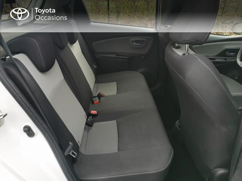 Toyota Yaris HSD 100h France 5p Blanc occasion à Magny-les-Hameaux - photo n°7