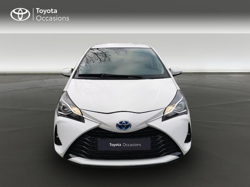 Toyota Yaris HSD 100h France 5p Blanc occasion à Magny-les-Hameaux - photo n°5
