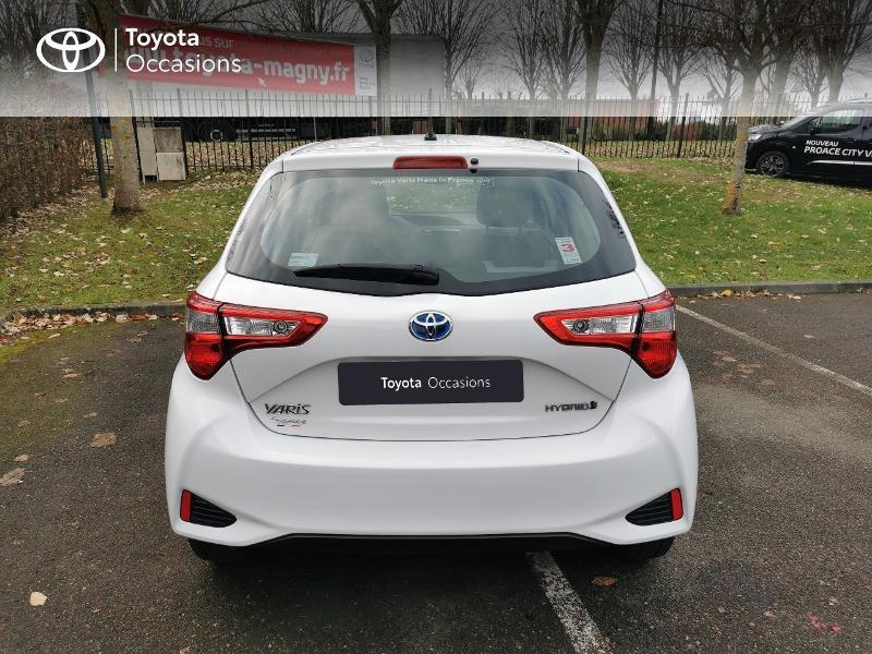 Toyota Yaris HSD 100h France 5p Blanc occasion à Magny-les-Hameaux - photo n°4