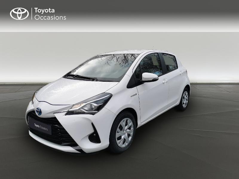Toyota Yaris HSD 100h France 5p Blanc occasion à Magny-les-Hameaux