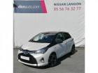 Toyota Yaris HYBRIDE LCA 2016 100h Collection Blanc à Langon 33