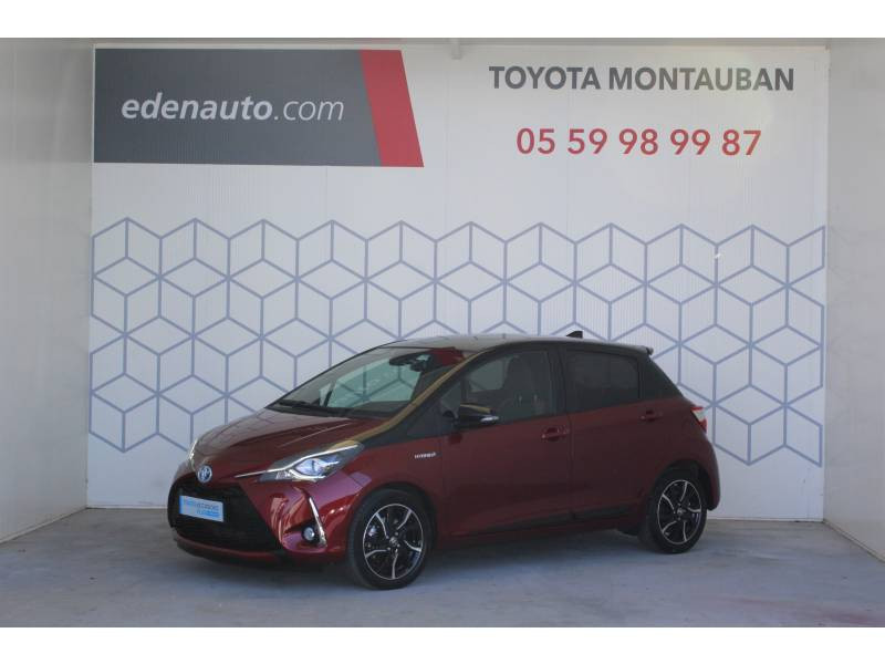 Toyota Yaris HYBRIDE MC2 100h Collection Rouge occasion à Montauban