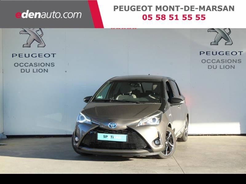 Toyota Yaris HYBRIDE MC2 100h Dynamic Gris occasion à Saint Pierre du Mont