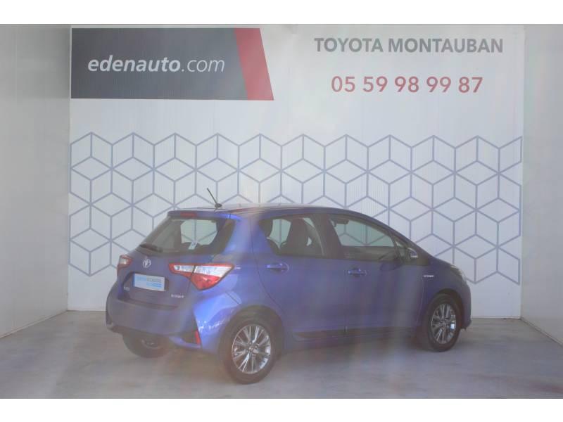 Toyota Yaris HYBRIDE MC2 100h Dynamic Bleu occasion à Montauban - photo n°2