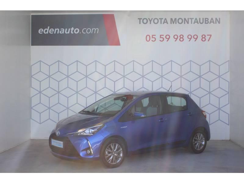 Toyota Yaris HYBRIDE MC2 100h Dynamic Bleu occasion à Montauban