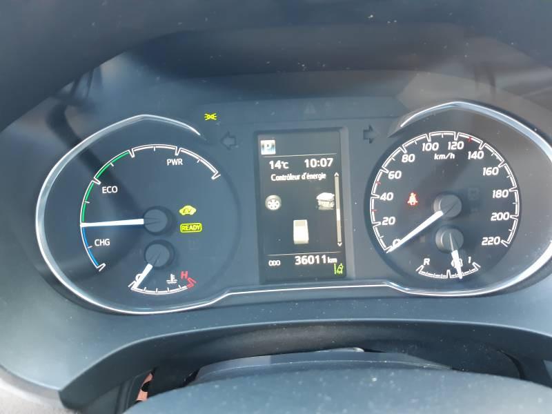Toyota Yaris HYBRIDE MY19 100h Dynamic Blanc occasion à Brive-la-Gaillarde - photo n°10