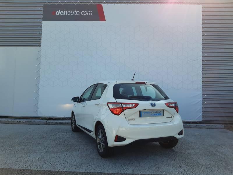 Toyota Yaris HYBRIDE MY19 100h Dynamic Blanc occasion à Brive-la-Gaillarde - photo n°3