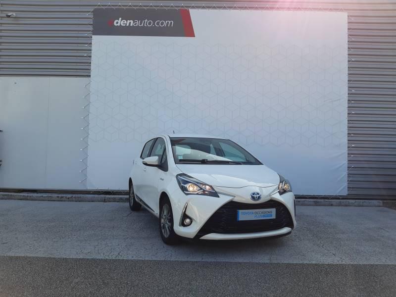 Toyota Yaris HYBRIDE MY19 100h Dynamic Blanc occasion à Brive-la-Gaillarde