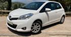 Toyota Yaris III 69 VVT-i Tendance 3p Blanc à MOUGINS 06