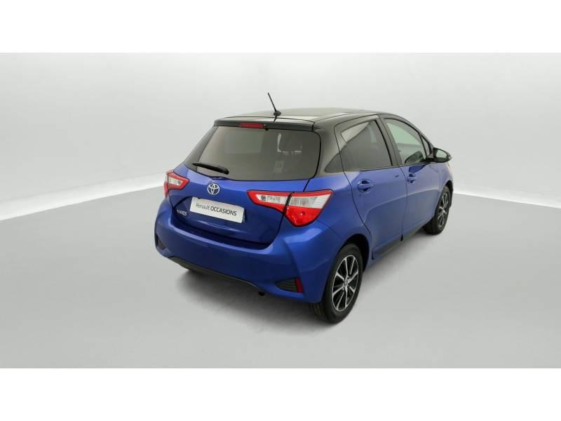 Toyota Yaris MC2 69 VVT-i Design Bleu occasion à SAINT-BRIEUC - photo n°3
