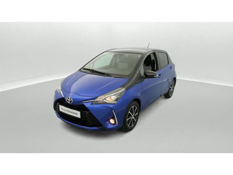 Toyota Yaris MC2 69 VVT-i Design Bleu occasion à SAINT-BRIEUC