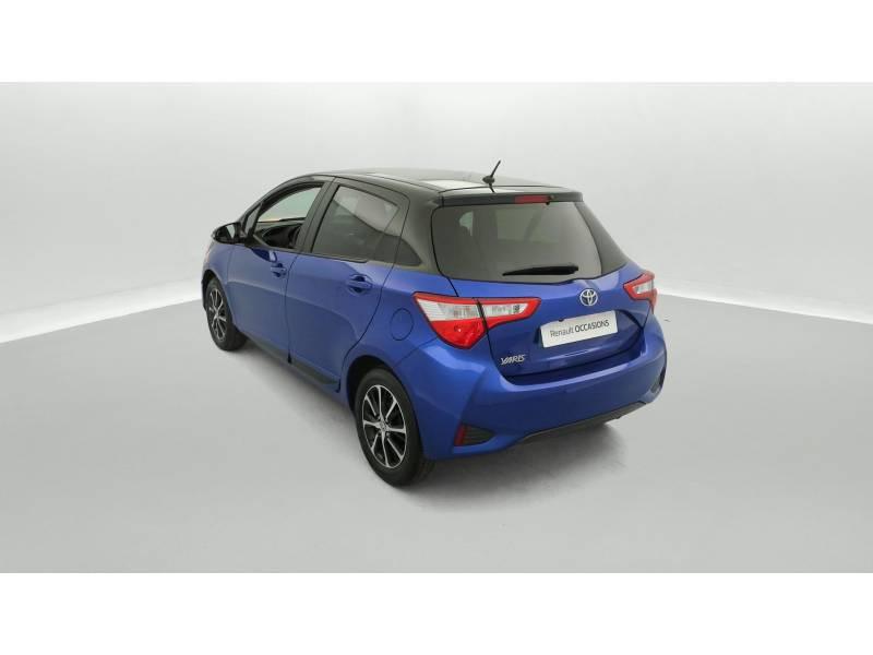 Toyota Yaris MC2 69 VVT-i Design Bleu occasion à SAINT-BRIEUC - photo n°4
