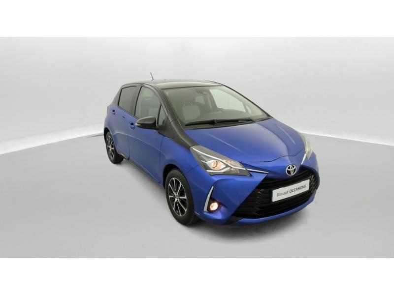 Toyota Yaris MC2 69 VVT-i Design Bleu occasion à SAINT-BRIEUC - photo n°2
